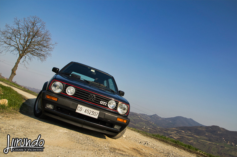 Golf GTI wide shot