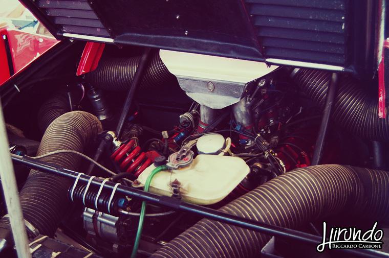 Ferrari 308 GTU IMSA engine
