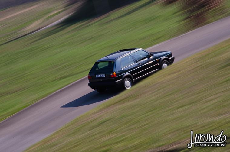 Golf GTI panning