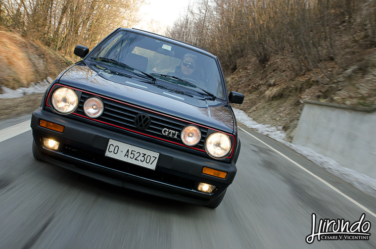 VW Golf GTI Mk2 front grill