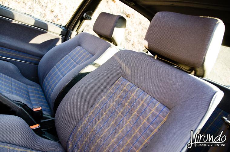 VW Golf GTI seats