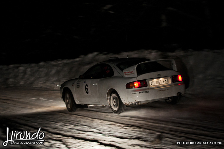 Celica snow drift