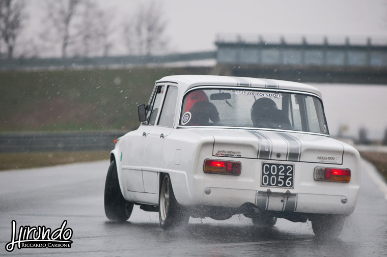 Giulia Super 1600 drift