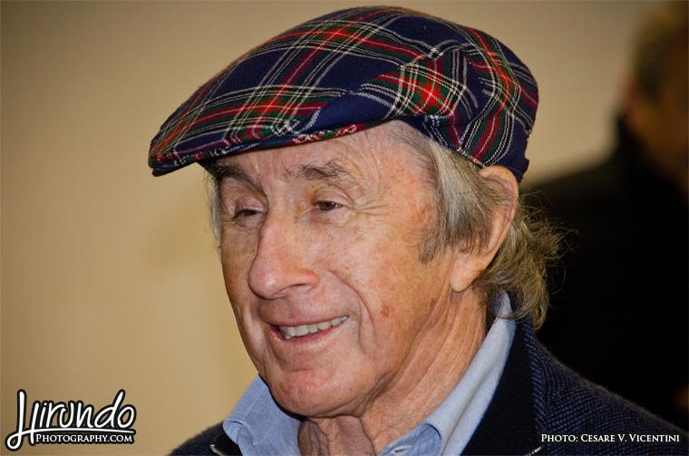 Jackie Stewart smile
