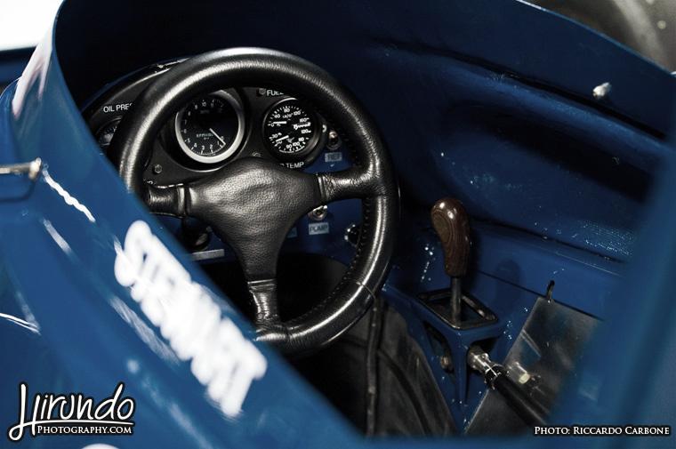 Tyrrell cockpit
