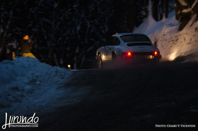 Porsche 930 snow
