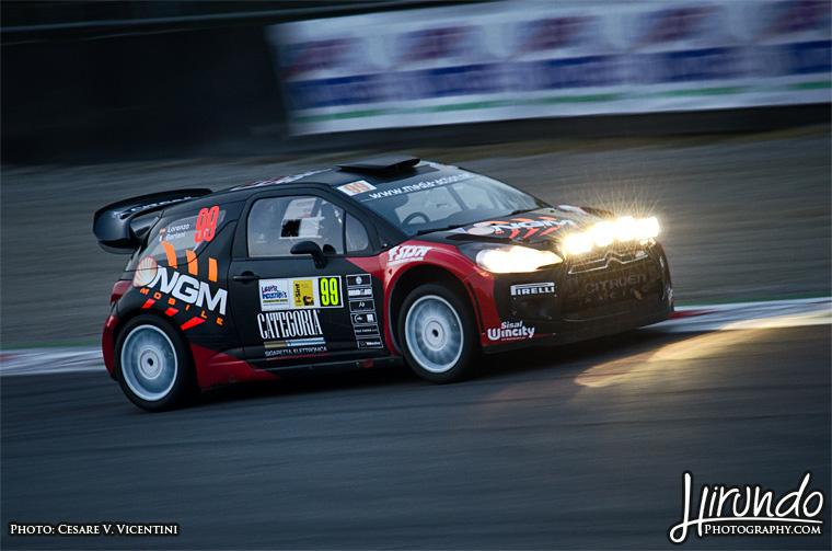 Jorge Lorenzo DS3 WRC