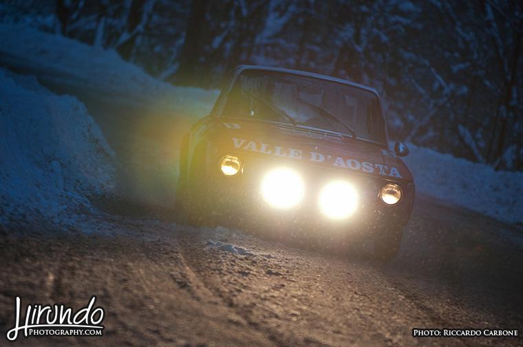 Fulvia HF rally