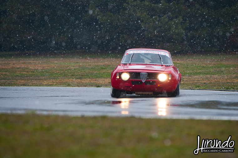 Alfa Giulia 1300 Junior GTA drift