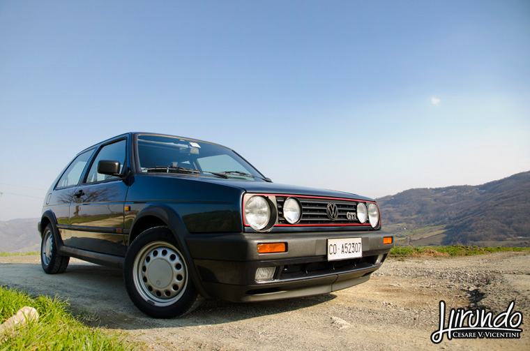 Golf GTI Royal Blue