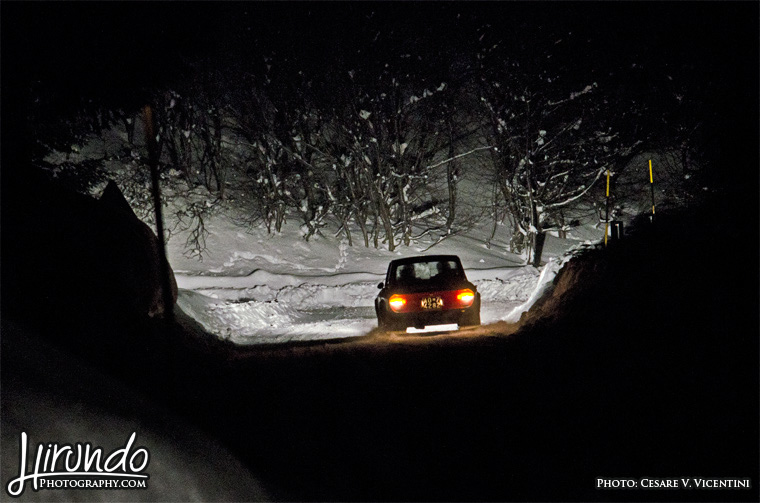 winter rallying