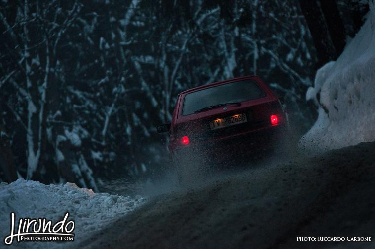 Lancia Delta snow