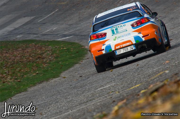 Mitsubishi Evo X Monza banking