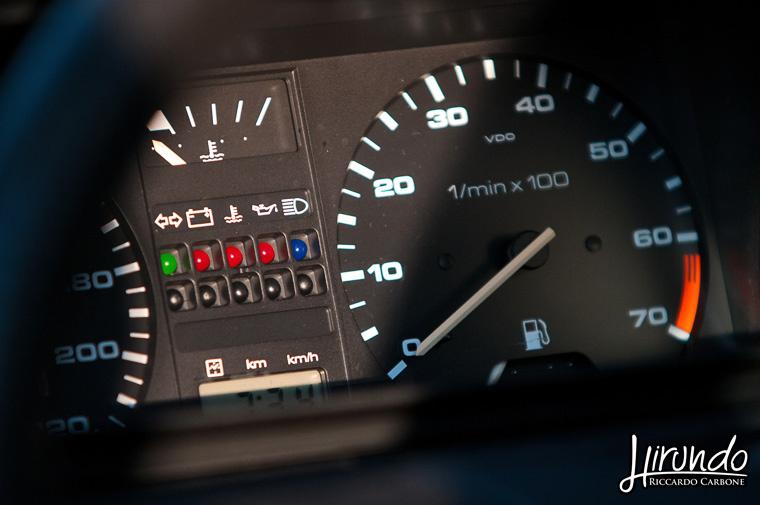 Golf GTI Mk2 dashboard