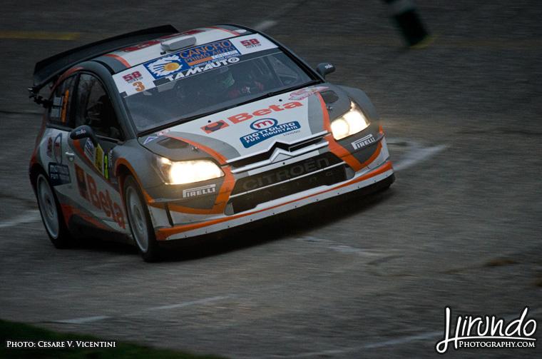 Marco Bonanomi C4 WRC