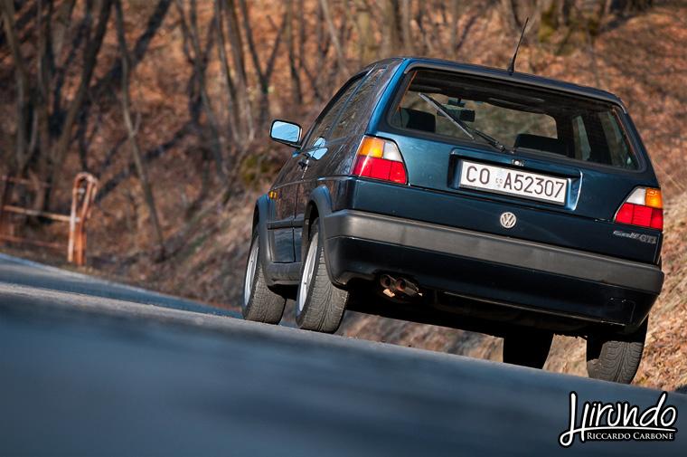 VW Golf GTI Mk2 rear view