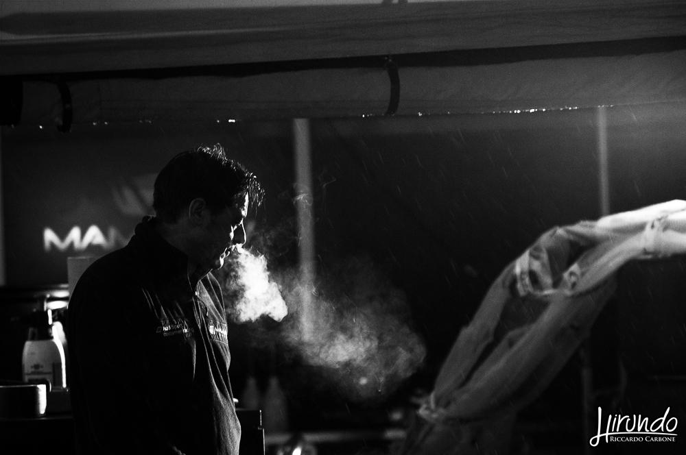 mechanic smoking