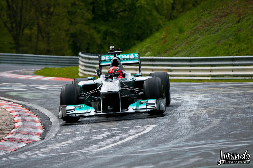 Michael Schumacher F1 Nordschleife