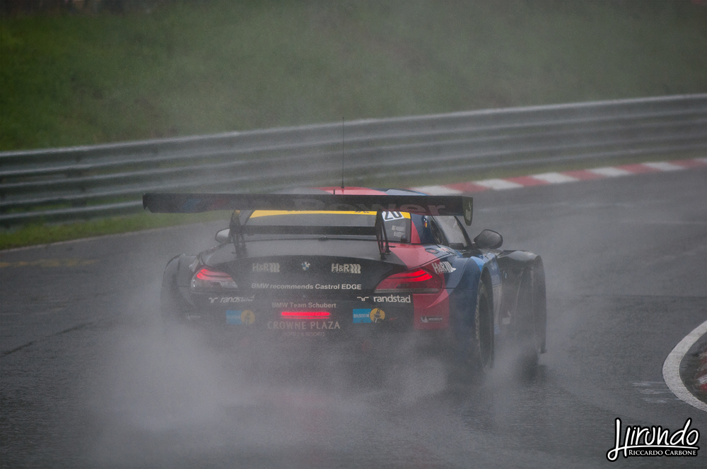 Schubert BMW rain drift
