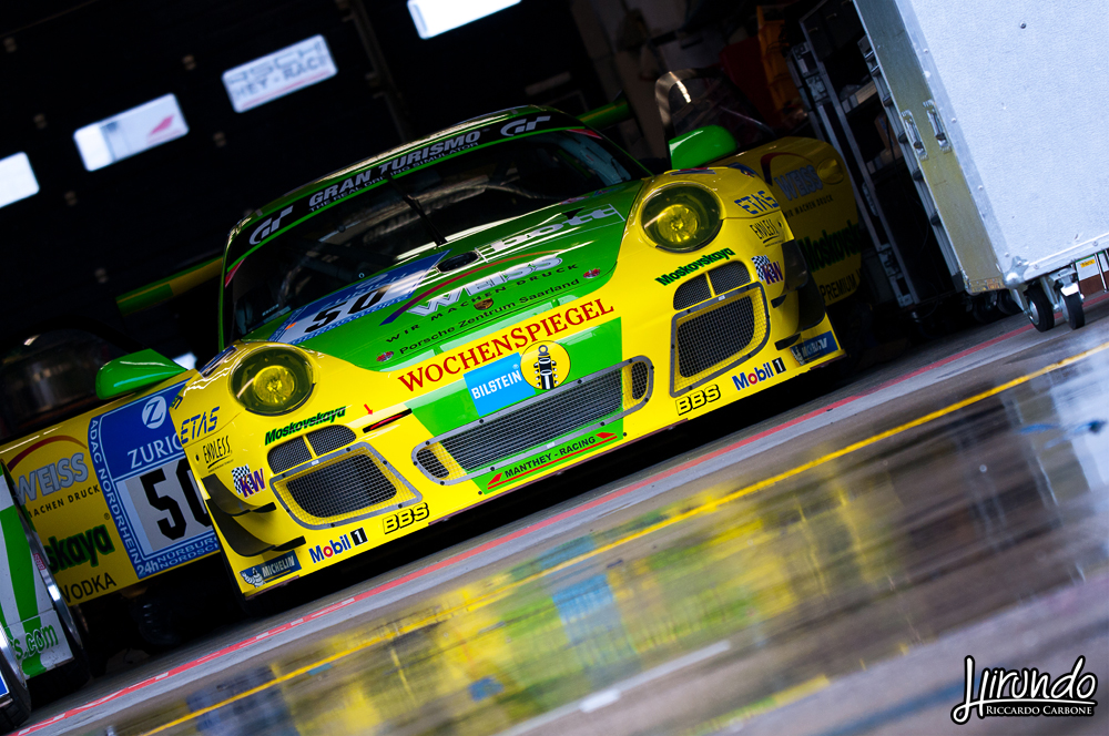 Porsche Manthey racing