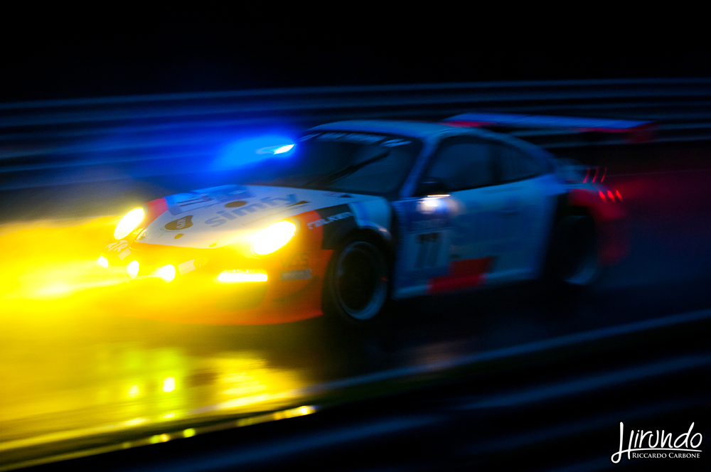 Heavy rain night Nurburgring
