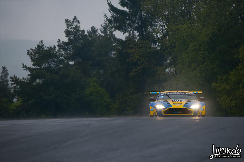 Aston Vantage GT3 Nurburgring