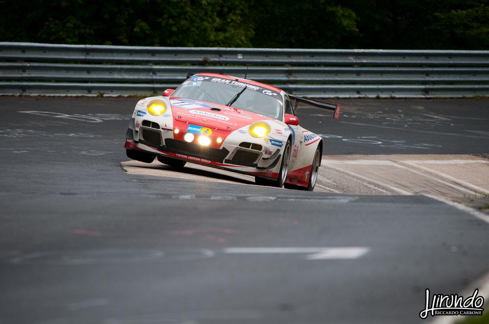 Porsche Karussell jump