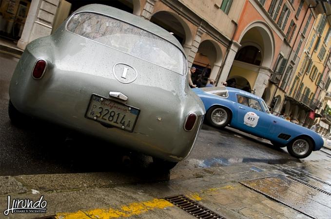 FIAT 8V Zagato (1955) - FERRARI 250 GT LWB TdF (1956)