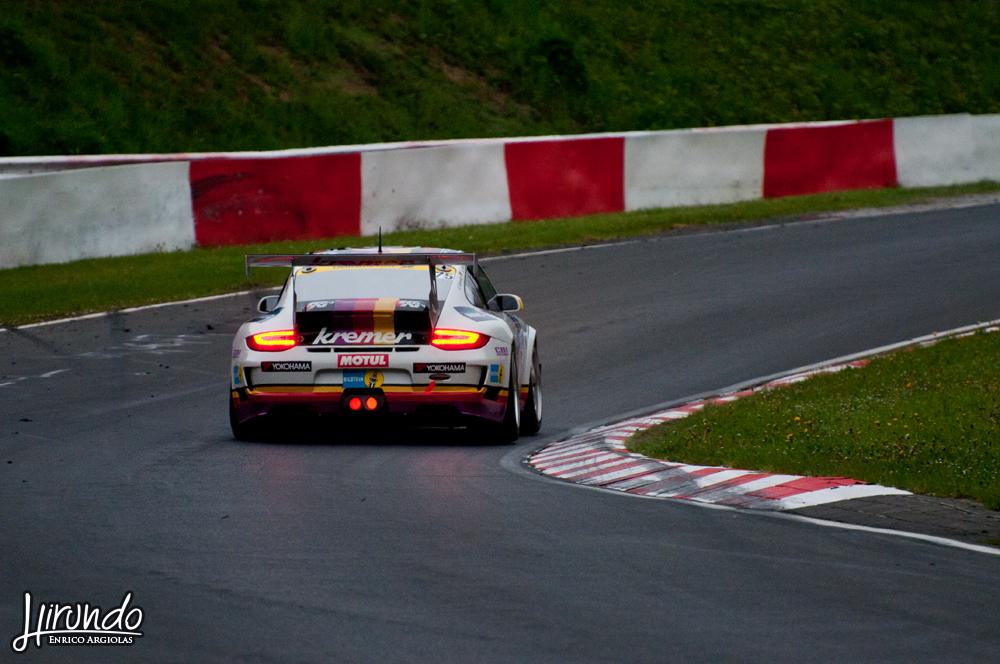 Porsche Kremer hot