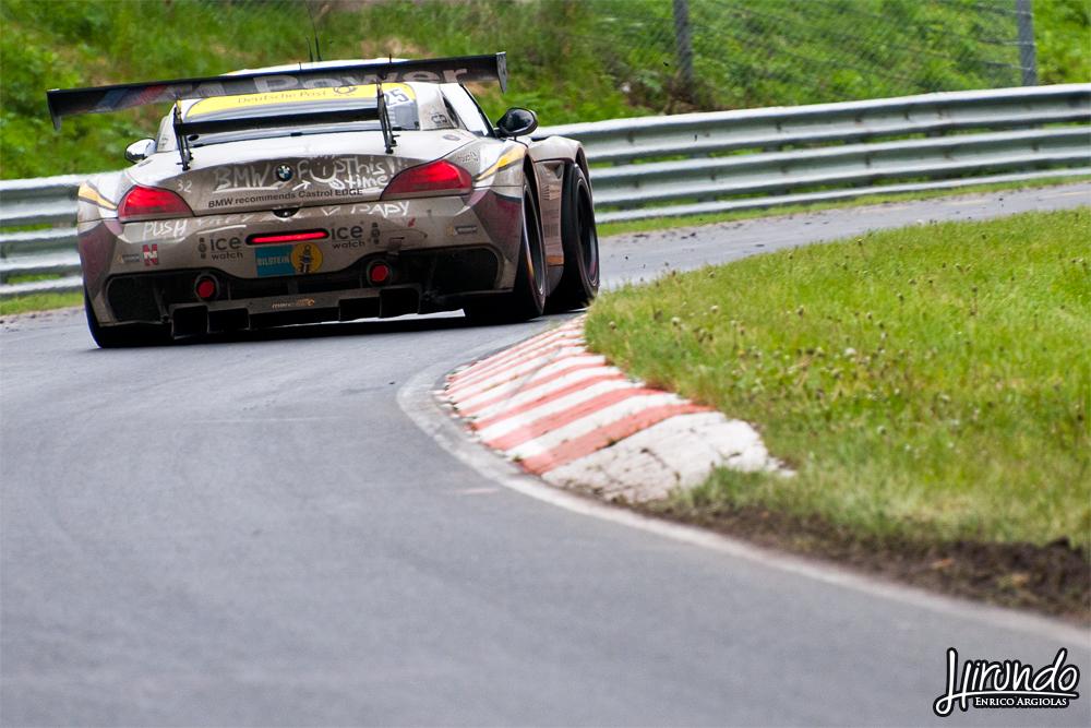 BMW Z4 GT3 Marc VDS Nurburgring