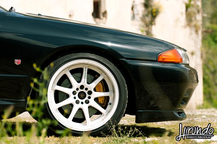 R32 GT-R work wheels
