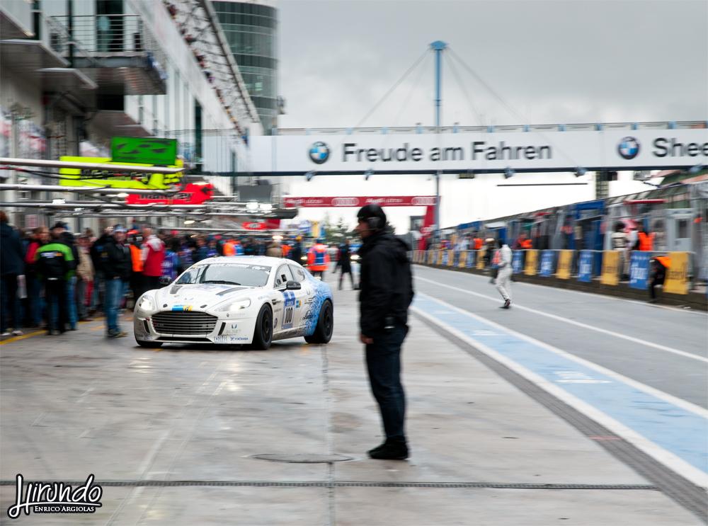 Aston Martin Rapide hydrogen