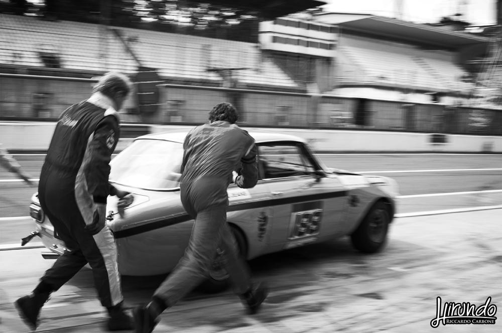 pit stop Le Mans