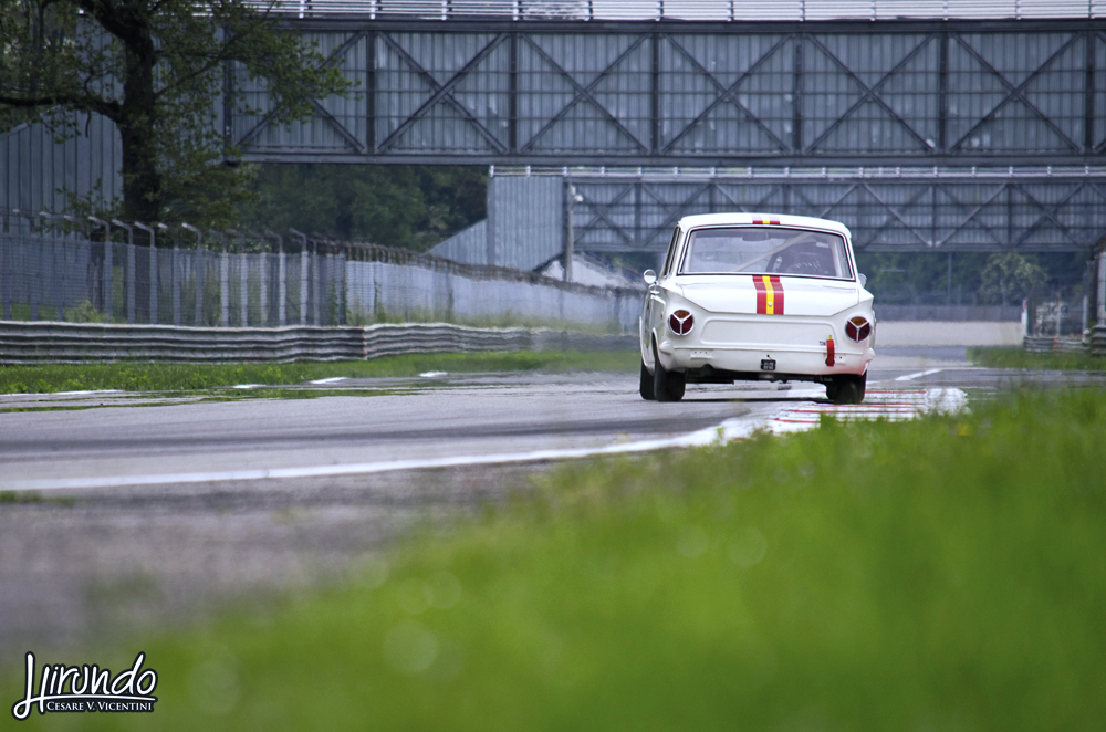 Lotus Cortina drift