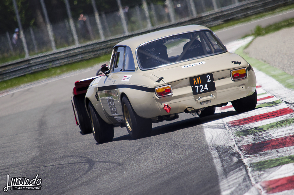 Alfa GTAm drift